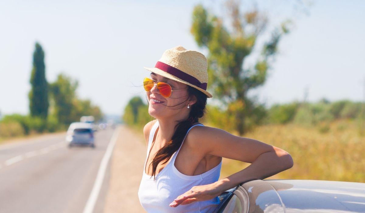 Ochrona UV podczas jazdy samochodem